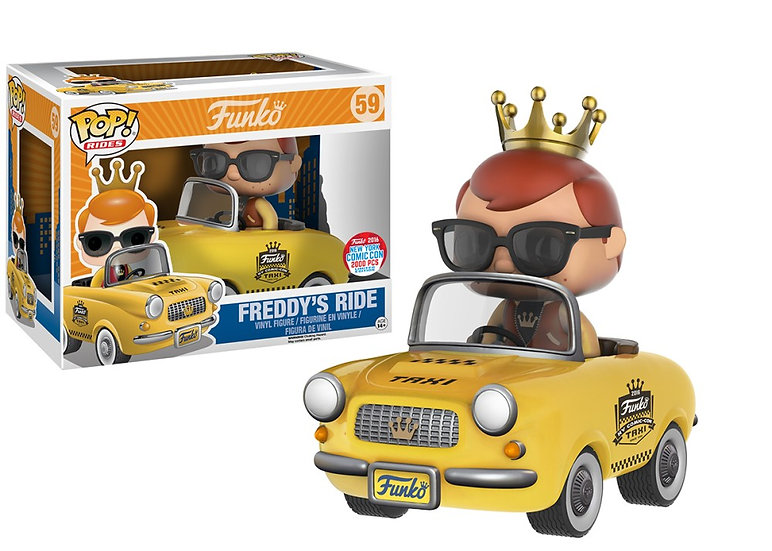 Freddy's Ride: NYCC 2016 vaulted 2000 piece limited edition
