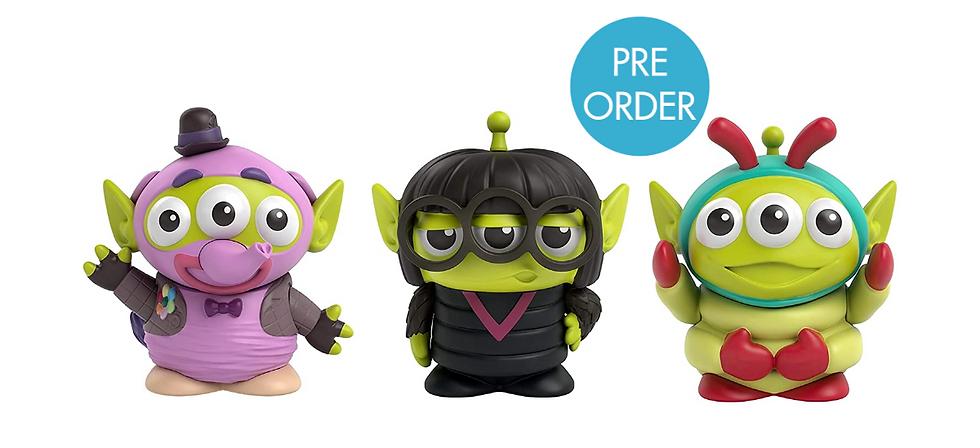 Mattel Pixar Alien Remix Figures Wave 4