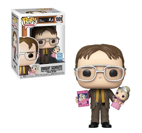 Dwight with Princess Unicorn Funko Shop exclusive