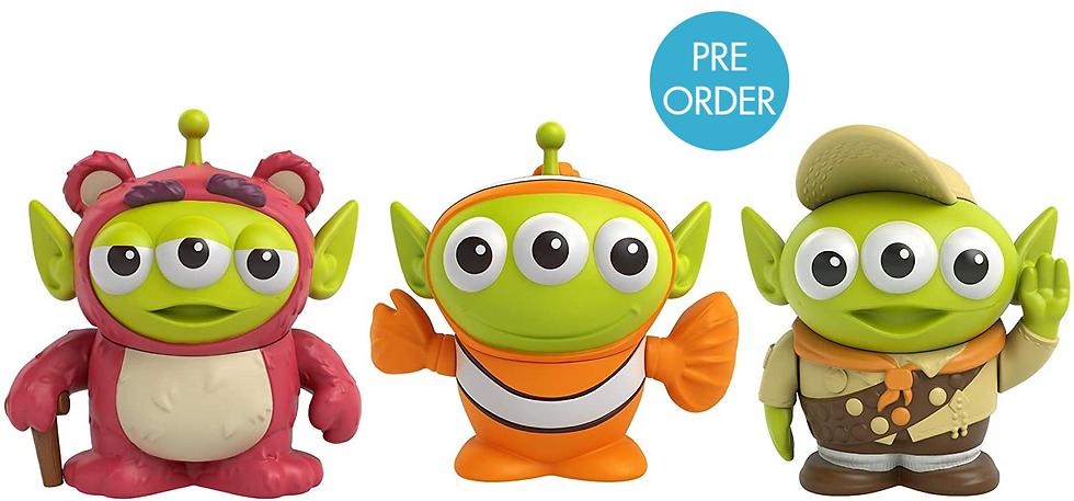 Mattel Pixar Alien Remix Figures Wave 3