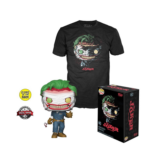 Death of Joker Funko Pop Tee