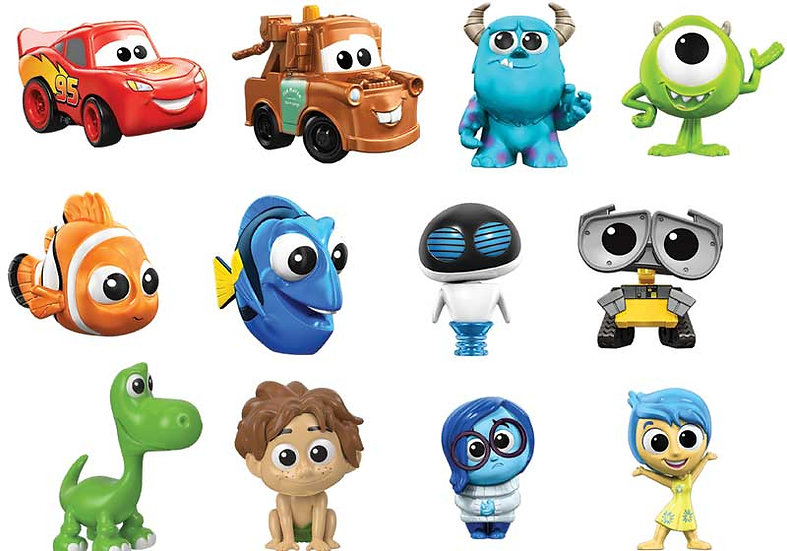 Mattel Disney Pixar Mini Figures: Choose your favourite!