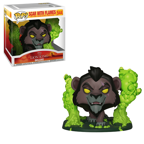 Scar with Flames Hot Topic Funko Pop