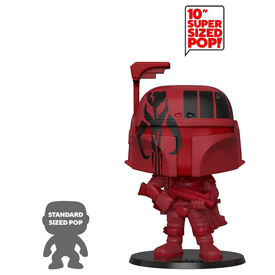 "Star Wars Super Sized 10"" POP! Vinyl Figure Boba Fett"