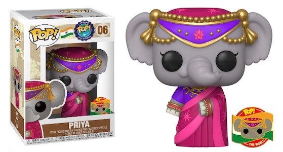 Priya: Around the world Funko Pop