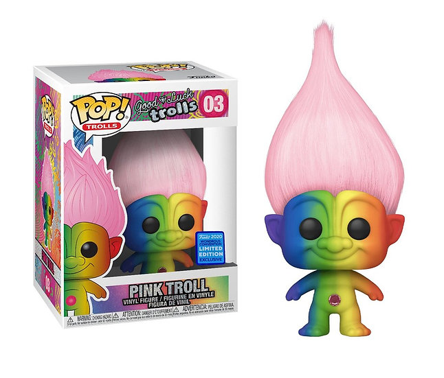 Pink Troll: Limited Edition Wondercon Exclusive