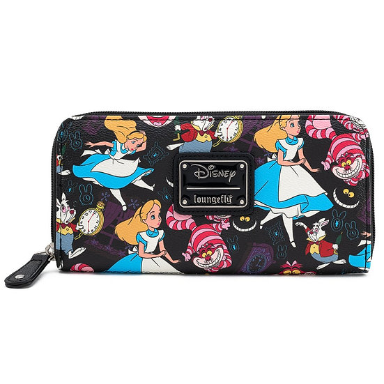 Alice In Wonderland Classic Print Loungefly Wallet