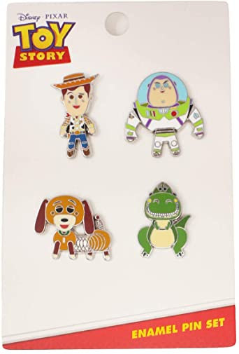 Loungefly Pixar set of 4 Toy Story Pins