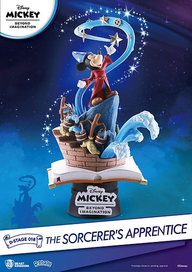 Mickey Beyond Imagination D-Stage Diorama The Sorcerer's Apprentice