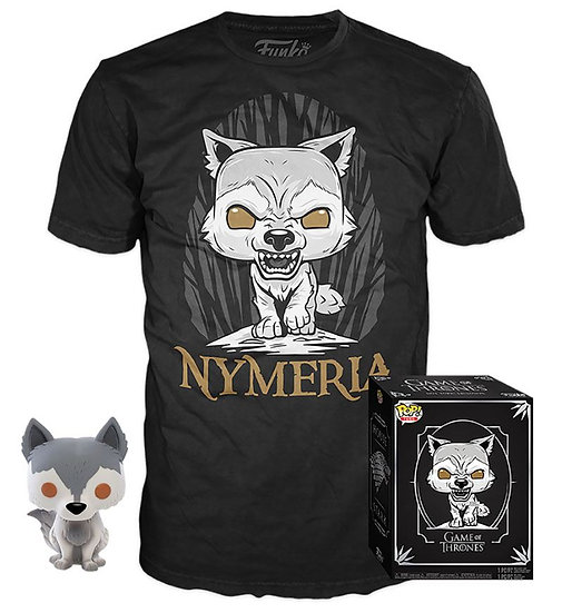 Funko Pop Tees: Game of Thrones Nymeria