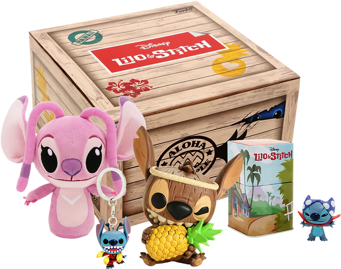 Funko Treasures Lilo & Stitch Tiki Box
