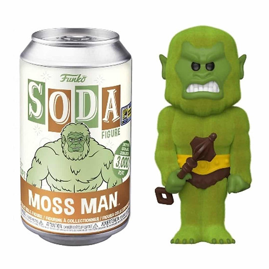 Flocked Moss Man SDCC 2020 Exclusive Funko Soda 3000 LE