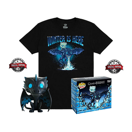 Game of Thrones Icy Viserion Pop Tee