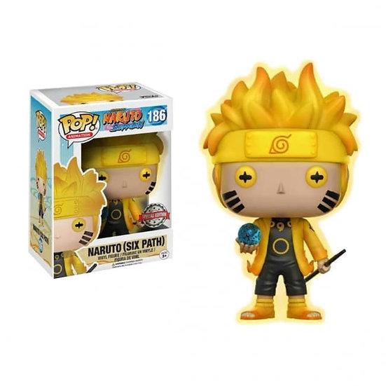 NOT MINT: Naruto Six Path GITD Funko