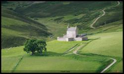 paisaje con castillo