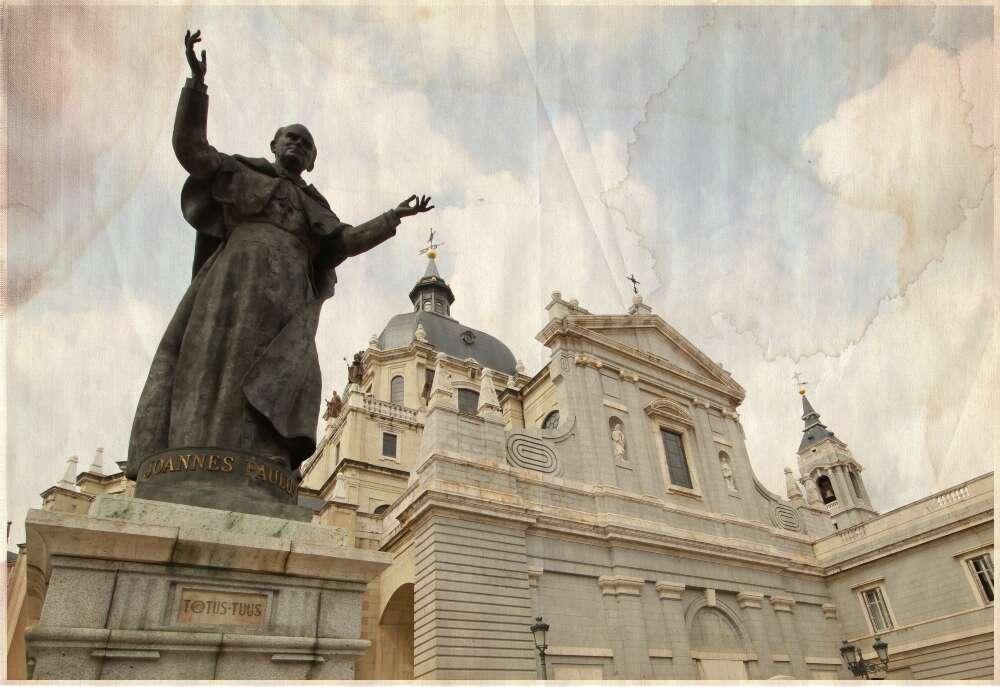 La Almudena - Juan Pablo II