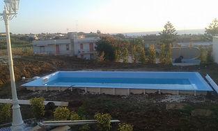 Montaggio piscine in vetroresina