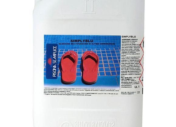 Antialghe Simply Blu per Trattamenti con Ossigeno Conf. 5 Kg. LAPI CHIMICI
