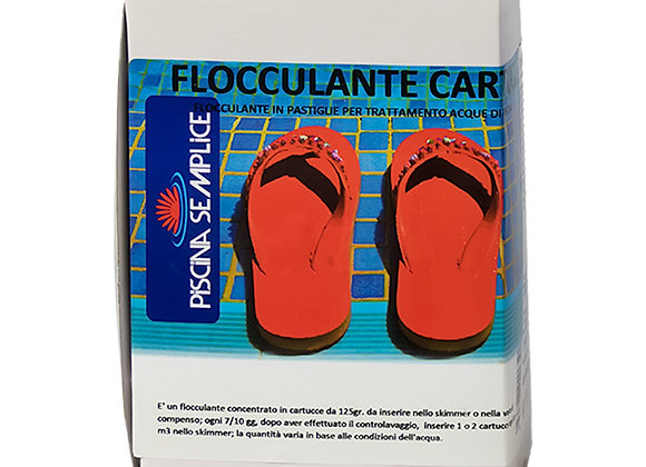 FLOCCULANTE CARTUCCE 125 G