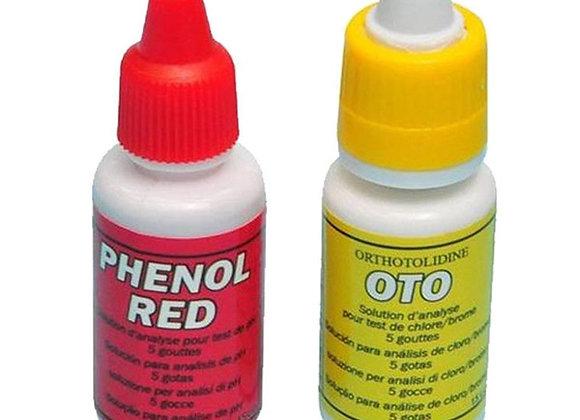 Ricambi test kit cloro/pH in gocce