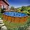 Thumbnail: Piscina fuoriterra Grè fantasia legno 500x300xh120