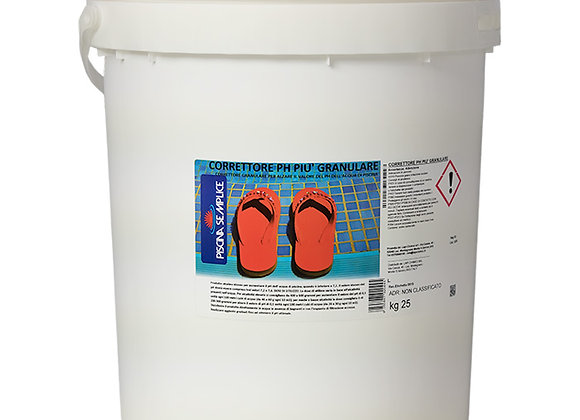 25 Kg Ph Plus - elevatore Ph granulare per piscina