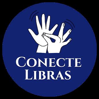 Logomarca da Conecte Libras.