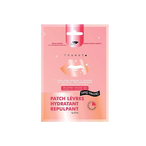 Patch Lèvres Biocellulose SUPERS POUVOIRS HYDRATANT REPULPANT