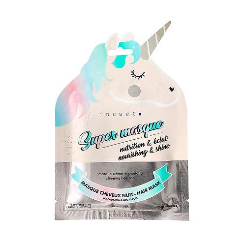 Masque Visage Biocellulose MASQUE CRÈME CHEVEUX NOURRISSANT+BRILLANCE