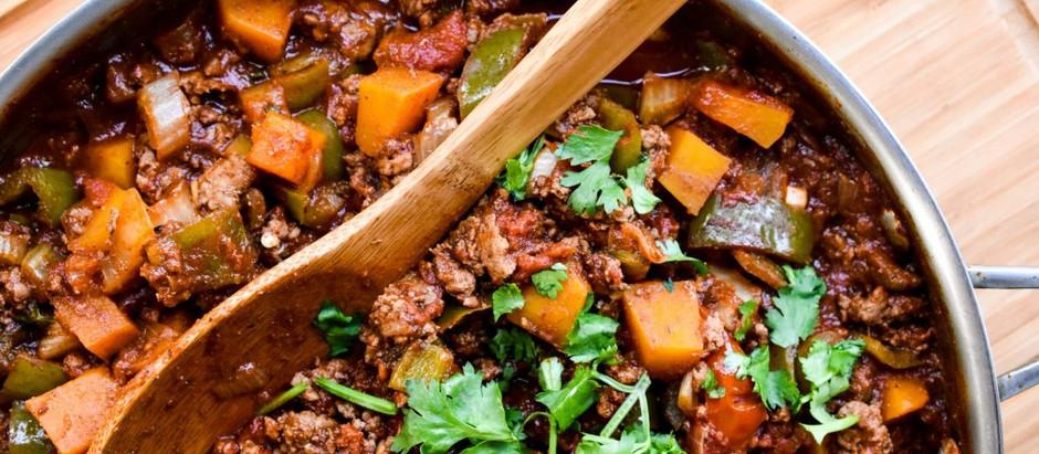 Moroccan Pumpkin Chili