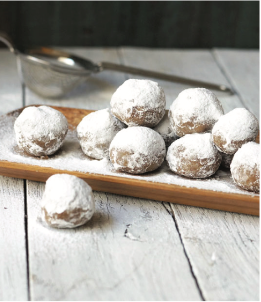 No-Bake Pecan Snowballs