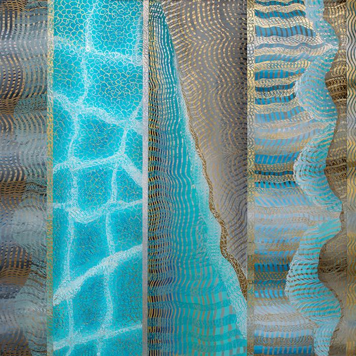 Unforeseen VII • liquidturquoise ripples…