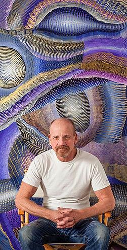 Rosenberg - Mystery - Acrylic on acrylic panel