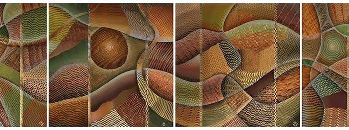 Tapestry I, II, III, IV