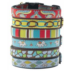 Green Market Dog Collar Collection