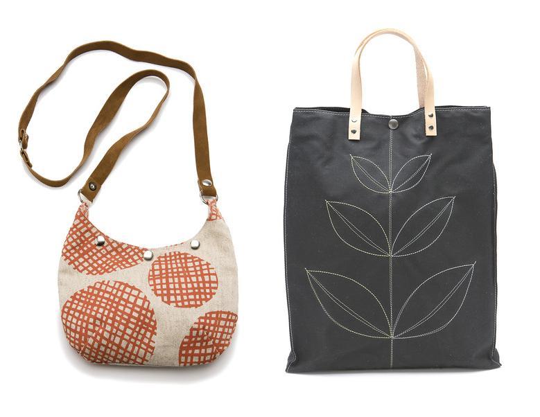 Fun, eco-conscious bags by Queen Bee