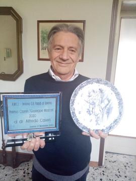 """Dr. Alfredo Caseri (di Villa D'Adda - BG)  Premio """"Giuseppe Moscati"""" per la sezione narrativa"""