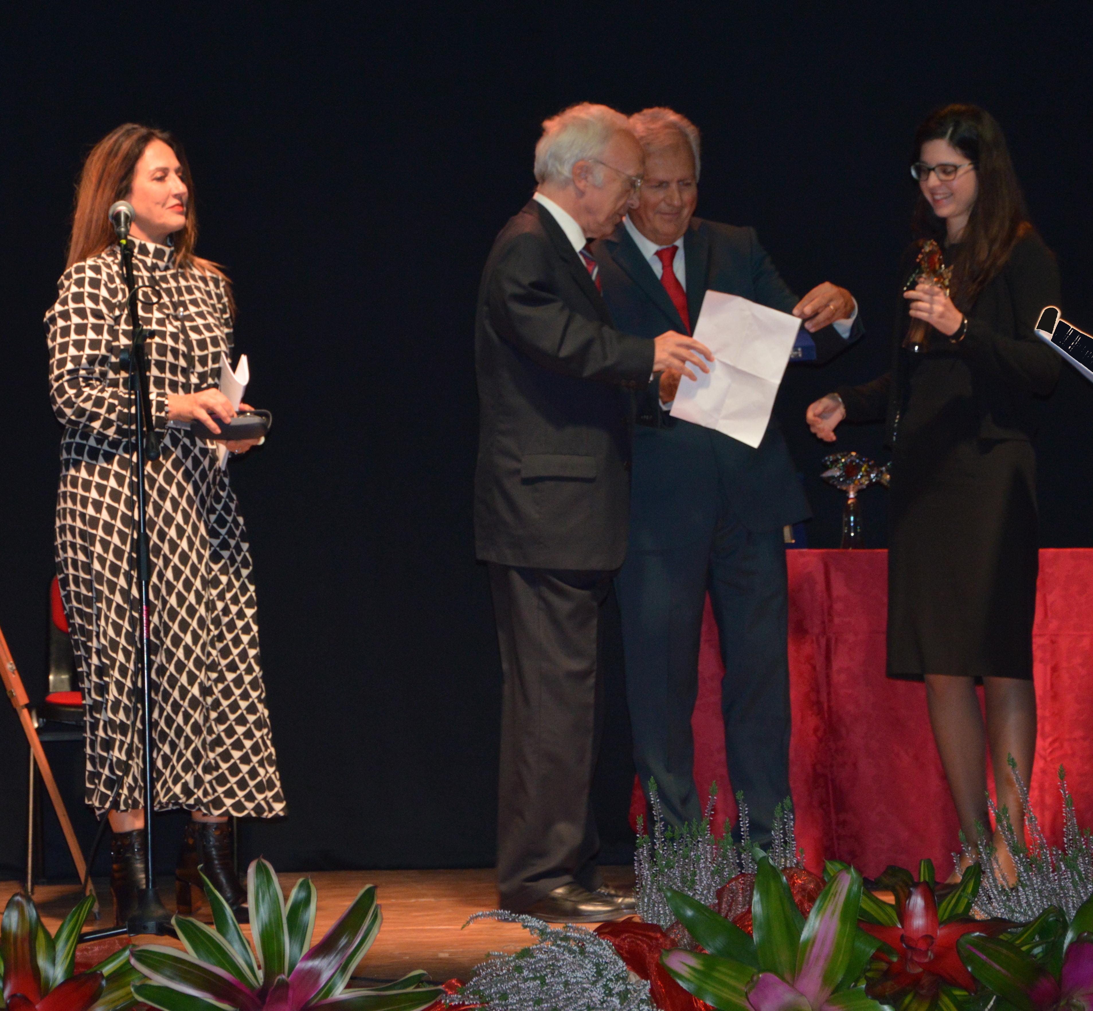 Adriano Sansa premia Letizia Banzato