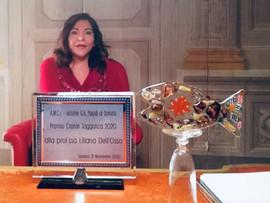Prof.ssa Liliana Dell'Osso (di Pisa)  PREMIO CRONIN SAGGISTICA 2020
