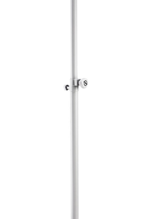 K&M Round Base 26735 Speaker Stand (White)