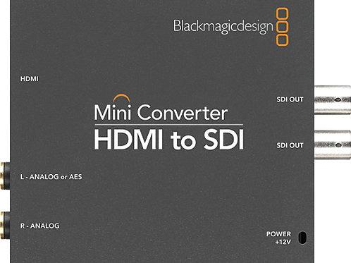 Black Magic Design HDMI to SDI Mini Converter
