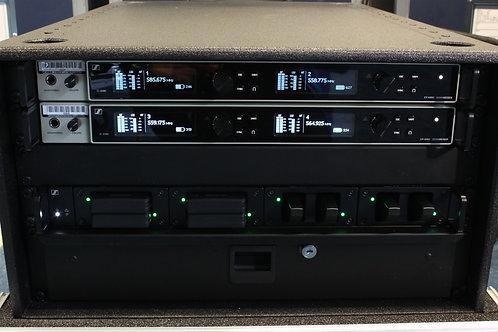 Sennheiser D6000 4 Channel Receiver Rack