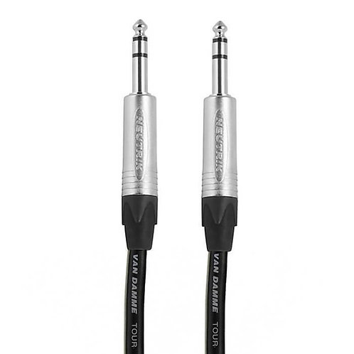 """TRS Balanced 1\4"""" Jack Cable 5m"""