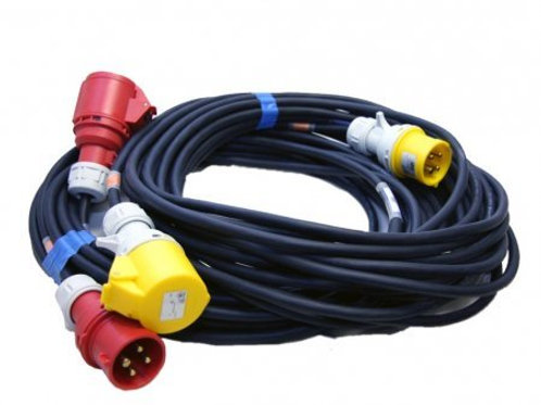 MOTOR POWER + CONTROL CABLE 15M