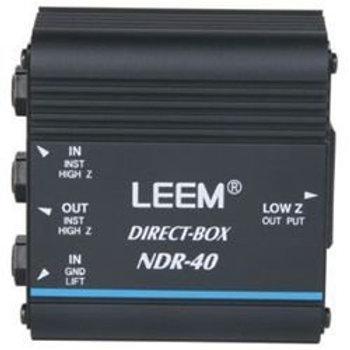 Leem NDR-40 Passive DI Box