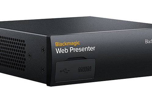 Black Magic Design Web Presenter
