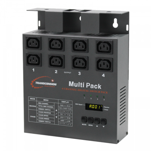 Transcension 4 Channel Multi Dimmer/Switch Pack