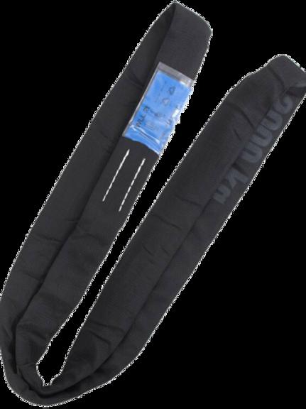 R-wire 2t steel core black roundsling EWL 0.5m