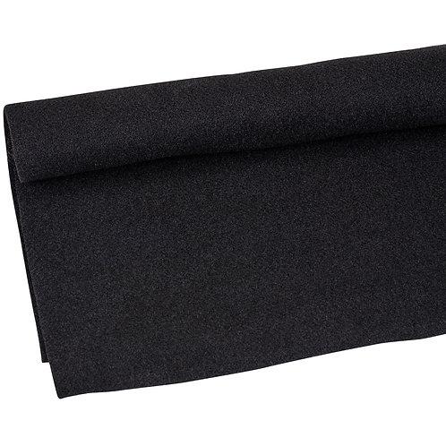 Black Pulled Chord Carpet (Msq)