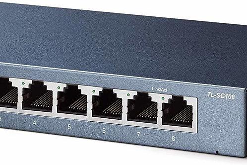 TP Link TL-SG108 Gigabit Network Switch (8 port)